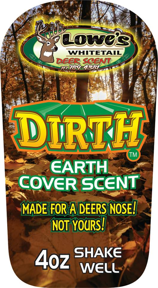 DIRTH Cover Scent - 4oz **INTRODUCTORY PRICE**