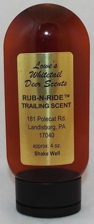 Rub n Ride Trailing Scent 4 oz